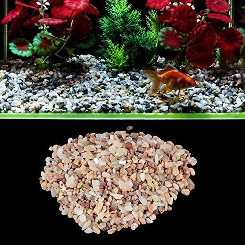 Naroote 𝐏𝐫𝐢𝐧𝐭𝐞𝐦𝐩𝐬 𝐕𝐞𝐧𝐭𝐞 Sable de décoration de Paysage d'aquarium Pratique, Sable de décoration d'aquarium, Accessoires de Bricolage en Cristal de Sandston pour Aquarium