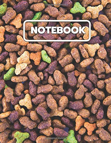 Cat Food Notebook: College Ruled Notebook And Journal For...