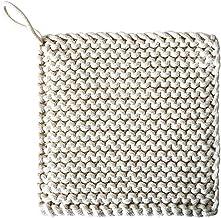 Housoutil Potholders Set Trivets Mat Cotton Thread Weave Hot Pot Holders Square Coasters Hot Pads Hot Mats Spoon Rest For ...