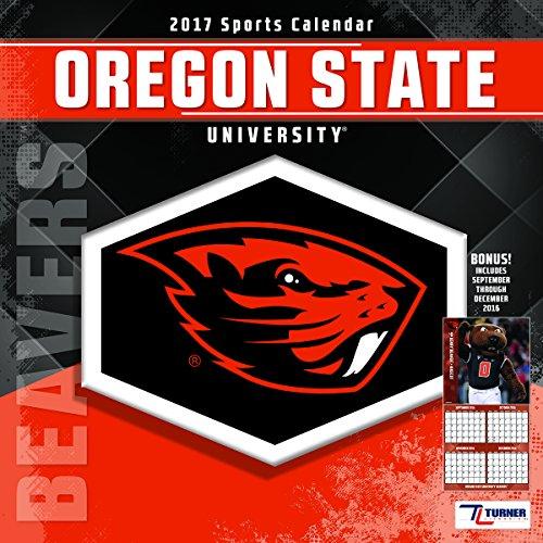 "Turner Licensing Sport 2017 Oregon State Beavers Team Wall Calendar, 12""X12"" (17998011815)"