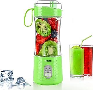 TOPESCT Draagbare Blender Mini Blenders voor Smoothies en Shakes, Persoonlijke Fruit Mixer Machine 13 oz USB Oplaadbare Ju...