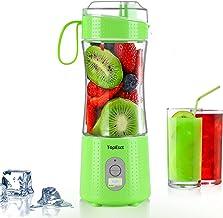 Topesct draagbare mixer, mini-mixer voor smoothies en shakes, 13 ounces USB-sapcentrifuge beker met persoonlijke fruitmixm...