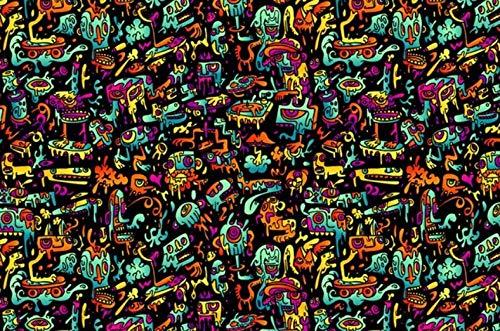 XZJXGZ 1000 Pieces puzzel volwassen Decompression Monster Series 70x50cm puzzel Kinderen Educatief speelgoed DIY huisdecoratie