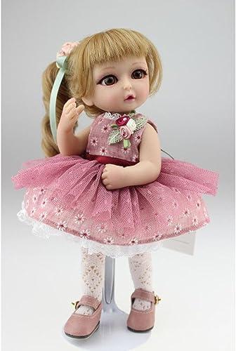QXMEI 10 Zoll Lebensechte Reborn Neugeborenes Baby, Sch  Realistische Sü Junge mädchen Spielzeug, Neugeborenes Baby Weißen Silikon Puppen, Echte Aussehende Puppe 25cm