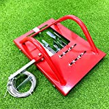 Artificial Grass Installation Tool line Cutter Turf Installation Tools(red)
