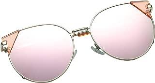 Oversized round fashion cat eyes men and women sunglasses