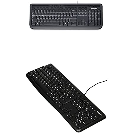 Microsoft Wired Keyboard 600 - Teclado, Español Qwerty + ...