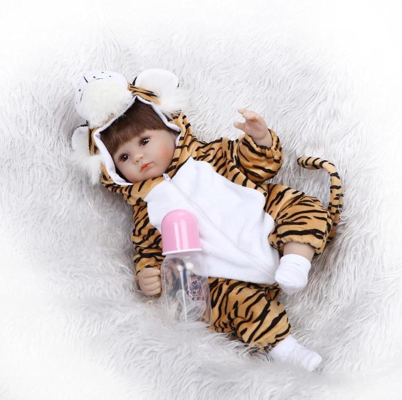 QXMEI 16-Zoll Reborn Babypuppe Puppe Weiche Silikon Puppe Reborn Puppe Mdchen Spielzeug Geschenk 40 cm