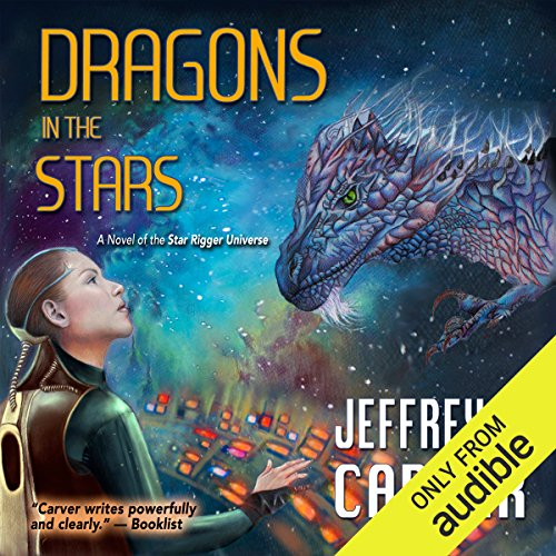 Dragons in the Stars audiobook cover art