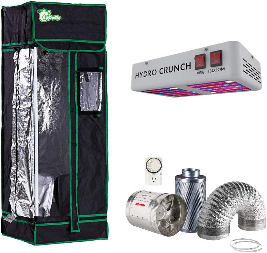 Hydro Crunch NTKLED-16X16X48 300-Watt Bloom Full Veg 期間限定 迅速な対応で商品をお届け致します Equivalent