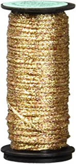 Kreinik No.16 10m Metallic Braid Trim, Medium, Antique Gold