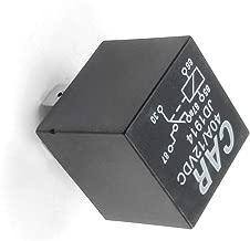 12 V SPDT 4-polig YUSHHO56T Kfz-Relais f/ür Innenraum-Teile JD1912 80 A Auto-Motor-Starterrelais Schwarz DC AMP universal