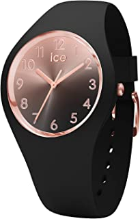 Ice-Watch - Ice Sunset Black - Orologio da Donna con Cinturino in Silicone - 015746, Small, Nero