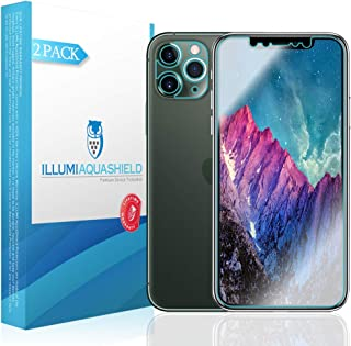ILLUMI AquaShield Screen Protector Compatible with Apple iPhone 11 Pro (5.8 inch) (Compatible with Cases + Camera Lens)(2-...