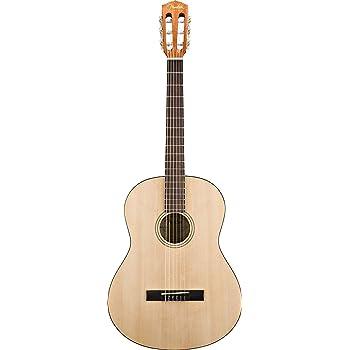Fender ESC-80 - Guitarra acústica clásica de la serie educativa, 3 ...