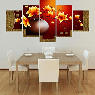 ZXCVWY Modern Canvas Painting Art Poster Wall Flower Modular Picture Home Decoration Print On Canvas For Living Room