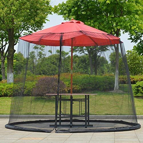 Alston Wat Outdoor Garden Patio Umbrella Parasol Mesh Net Screen Cover Mosquito Fly Pest