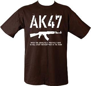 Kombat UK Men's Ak47 T-Shirt - Olive Green