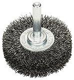 Bosch Professional Scheibenbürste, Stahl, gewellter Draht, 0,2 mm, 50 mm, 15 mm, 4500 U/min, 2608622111