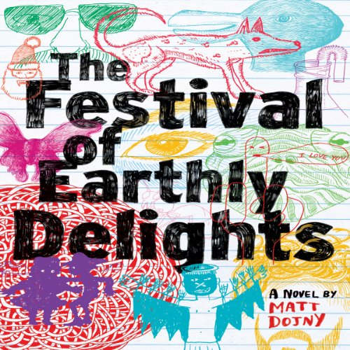 The Festival of Earthly Delights audiobook cover art