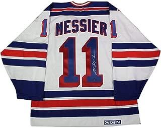 mark messier white jersey