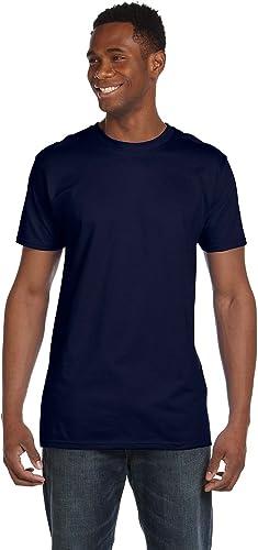 4980 T-Shirt Nano 2 Pack pour Hommes 1 Noir + 1 Marine 2XL