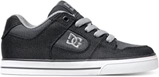 DC Pure TX SE Skate Shoe (Little Kid/Big Kid), Black/Pirate Black, 13 M US Little Kid