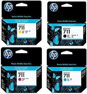 HP 711 Ink Cartridge Bundle Consists of HP 711 38-ML Black Ink Cartridge, P 711 29-ML Cyan Ink Cartridge, P 711 29-ML Mage...
