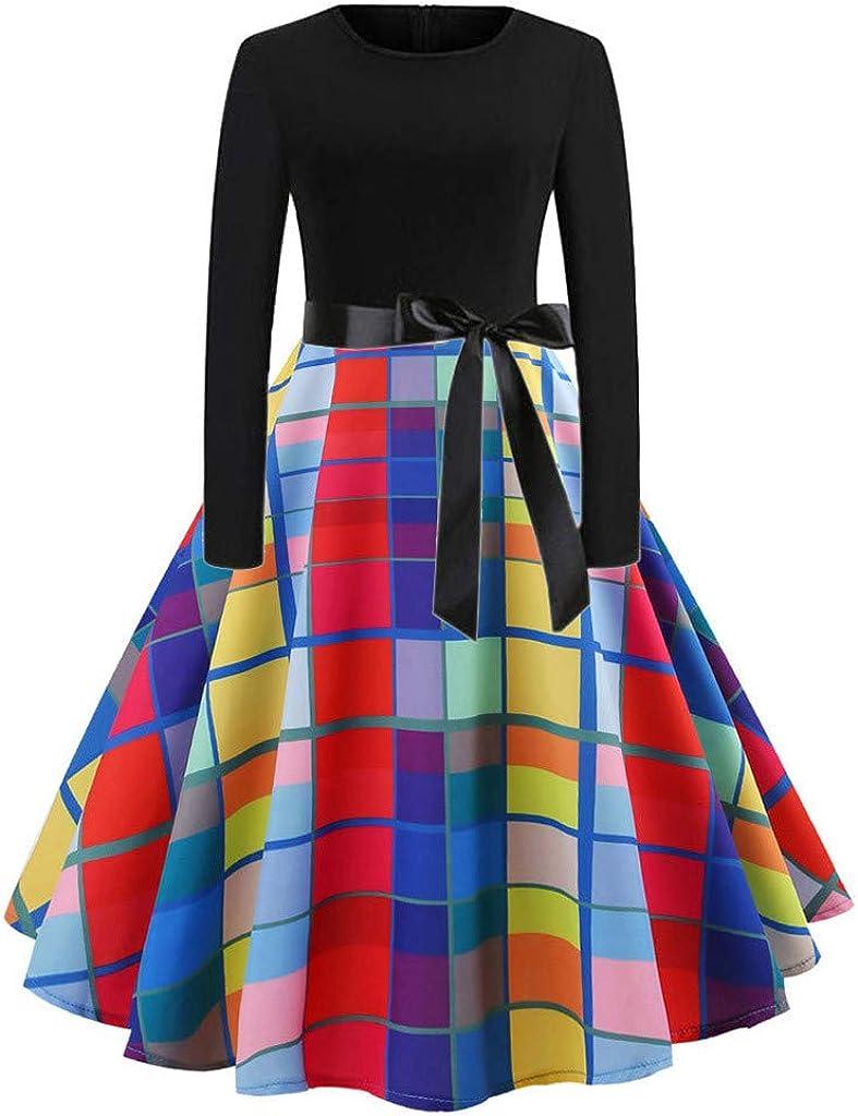 Cheap mail order shopping PERFURM Women Polka Dot Halloween Cl Cocktail Prom Dress Hepburn 5 ☆ popular