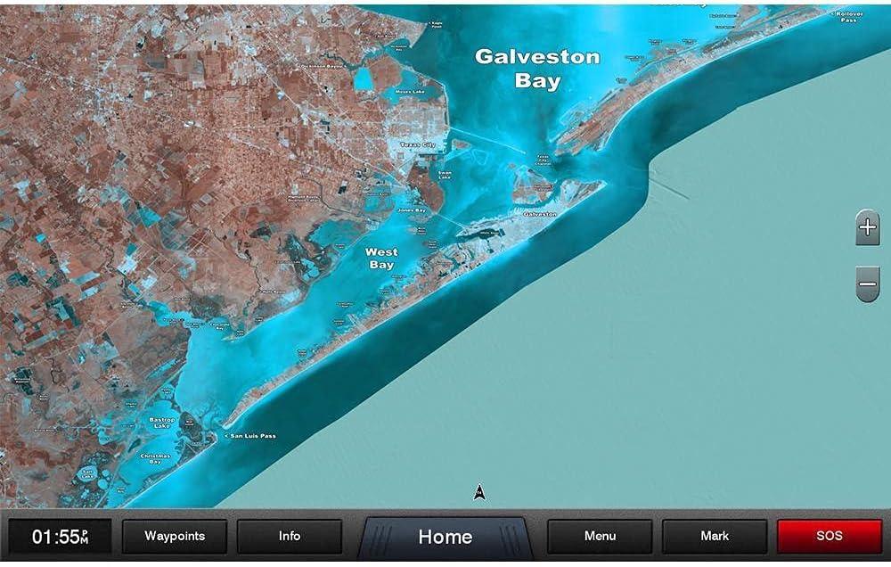 Garmin Standard Mapping - Texas East Classic microSD/SD Card [010-C1180-00]