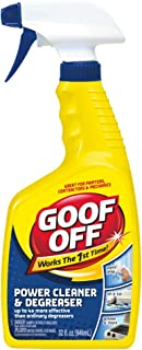 Goof Off FG686 Power Cleaner and Degreaser, 32-Ounce