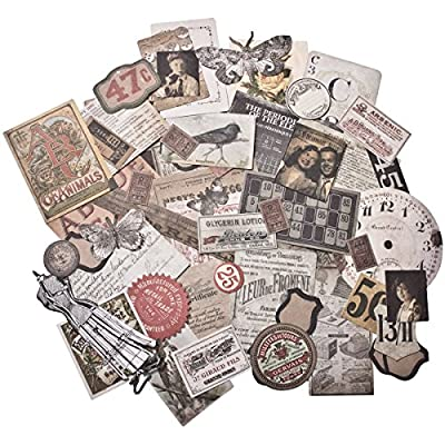Thrift Shop Ephemera Pack, 54 Pieces, TH93114