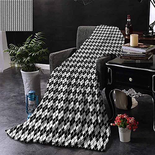 GGACEN bont deken Gekleurd en geruit land picknick patroon herhalen vierkanten strepen modern kleurrijk, Home, bank, buiten, Reizen gebruik