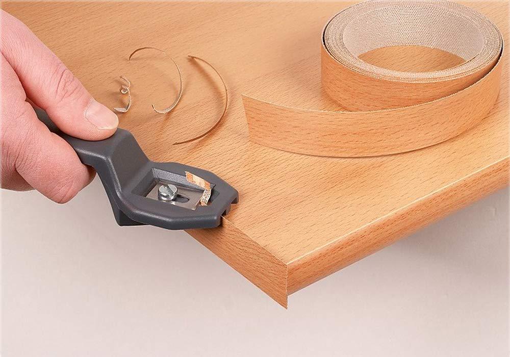 10m rollo Mprofi MT/® Cantoneras laminadas melamina para rebordes con Greve Nogal 45 mm