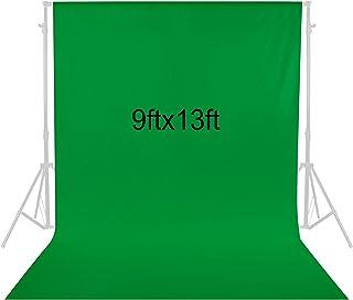 Neewer 2,8 x 4 Metros Fotografía Fondo Foto Video Estudio Pantalla de Fondo de Telón Fondo de Tela (Verde)