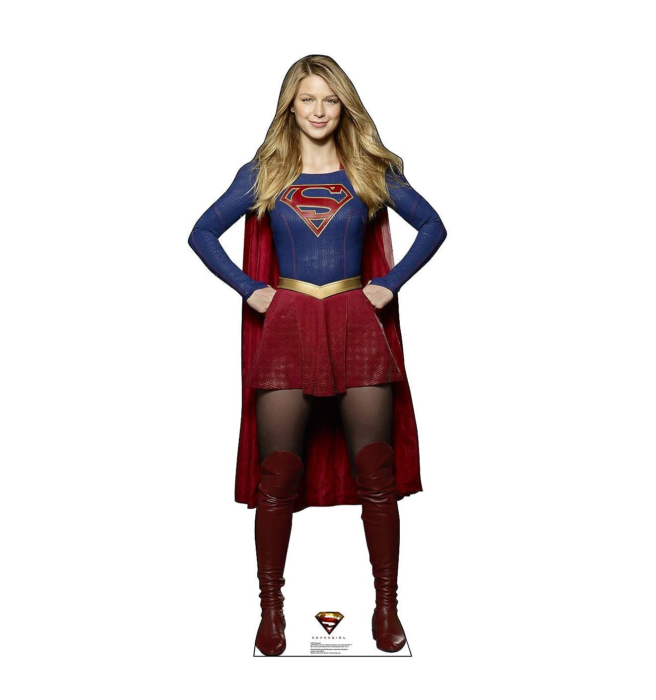 Advanced Graphics Supergirl Life Size Cardboard Cutout Standup