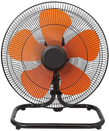 Haojie Ventilador eléctrico, Ventilador de Alta Potencia, Ventilador de Flujo de Aire Industrial de 3 velocidades y Ventilador de Ventilador Ajustable Ventilador eléctrico,A,18 Inches