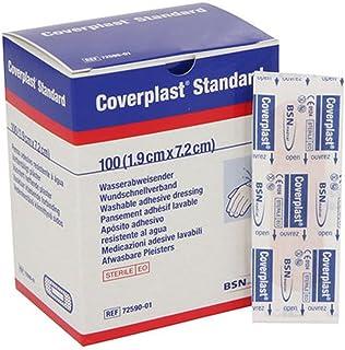 Tiritas Plástico Coverplast Standard 7cm x 2 cm-Caja 100 u
