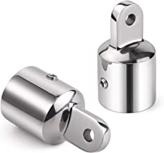 Kohree Bimini Top Caps Eye End Top Fitting Hardware Boat 316 Stainless Steel for Canopy, 1 inch (2 Pack)