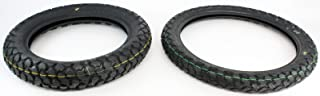 Kawasaki Klr650 Front & Rear Tire Combo Kit Klr 650 90/90-21 130/80-17 New Oem