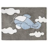 Happy Decor Kids HDK-223 - Alfombra lavable, color azul