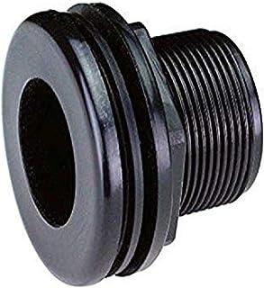 Lifegard Aquatics R175141 1//2-Inch Standard Threaded Bulkhead