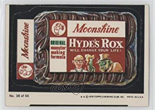 Moonshine Hydrox (One Star) COMC REVIEWED Good to VG-EX (Trading Card) 1979 Topps Wacky Packages Rerun Series 1 - [Base] #38.1