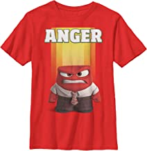 Fifth Sun Inside Out Boys' Anger Portrait T-Shirt