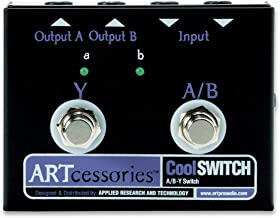 ART CoolSwitch A/B-Y Switch Instrument Pedal with Footswitch
