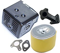 17210-ZE3-505 OuyFilters Lot de 2 Filtres /à air pour Honda GX340 GX390 11CV 13CV pi/èce de moteur n/°17210-ZE3-010