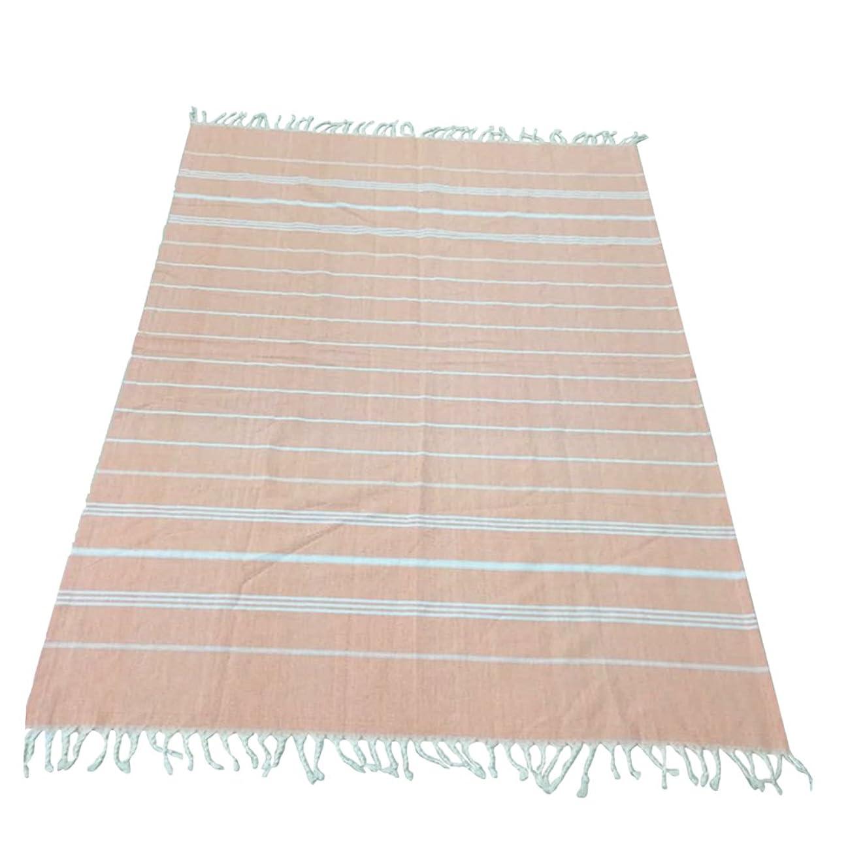 オークション恩赦完全に乾く全3色 ビーチ スパバス タオル 高吸水性 軽量 180x100cm - オレンジ