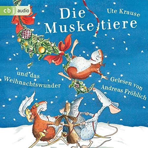 Die Muskeltiere und das Weihnachtswunder audiobook cover art