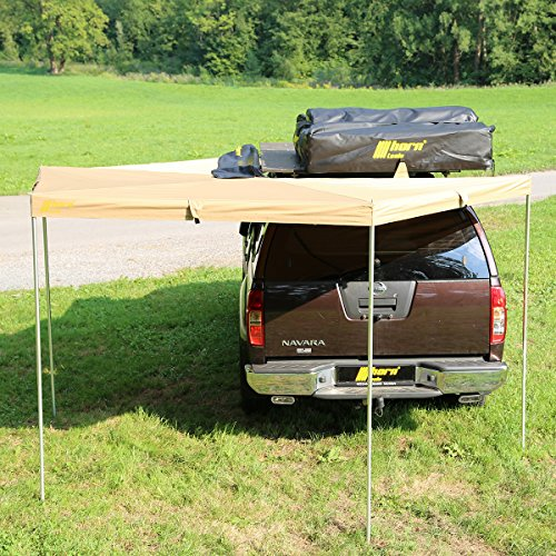 horntools Markise Eaglewing 2x2m Sandfarben Offroad Foxwing Vordach