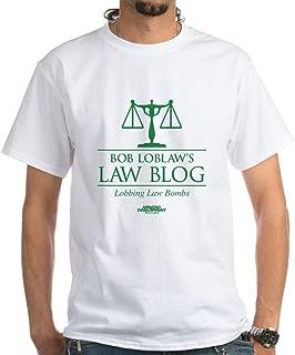 Bob Lablaw's Law Blog White T-Shirt Cotton T-Shirt